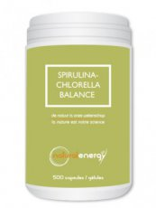NATURAL ENERGY Spirulina Chlorella 1000 c